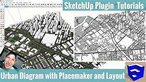 Creating An Axonometric Urban Diagram In Sketchup With