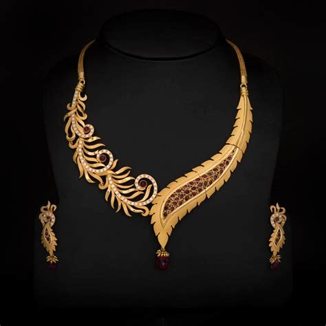 49 swarnamahal wedding necklace designs kaia joyas 29