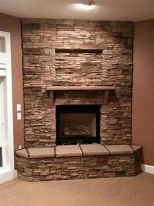 Mesmerizing 50+ Indoor Stone Fireplace Kits Decorating