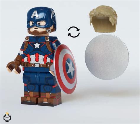 Captain America AOU Jaka Brick Custom Minifigure ...