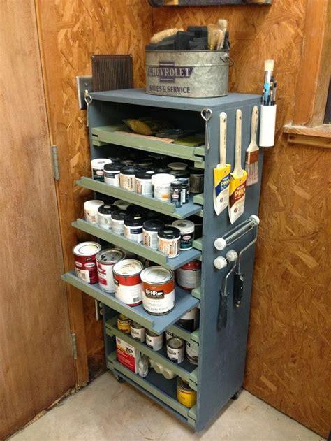 wilker dos diy paint storage cabinet paint storage