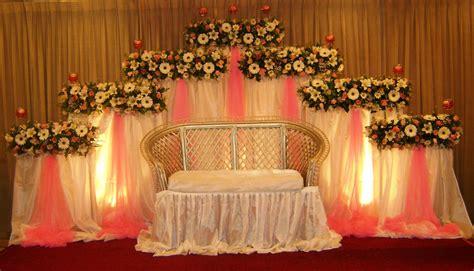 Wedding Decoration Design by Vismaya Wedding Settee Backs