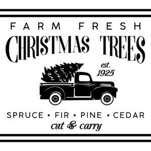 farm fresh christmas trees    lovejoy workshop