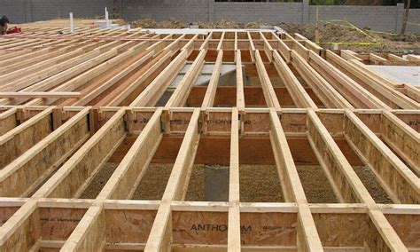 floor joist spans canada power joist anthony forest products co