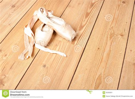 shoes for hardwood floors pair of old ballet shoes stock image image of classical 35295951