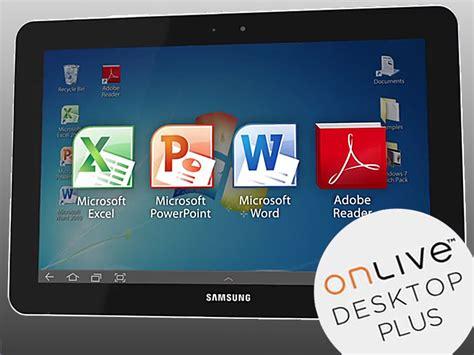 onlive desktop gratis  von windows aufs tablet