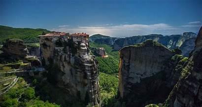 4k Nature Wallpapers Desktop Greece Meteora Monasteries