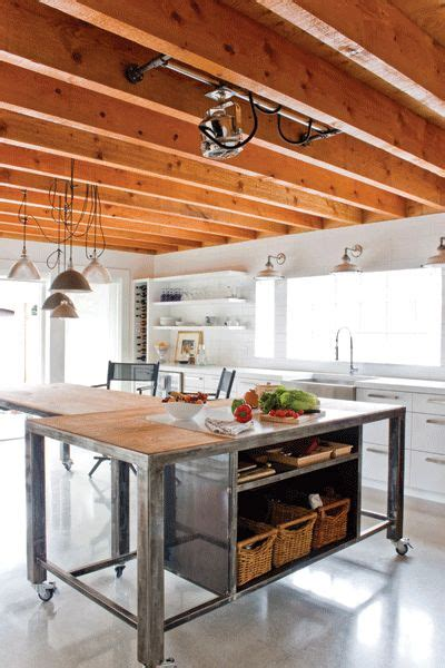 Best 25+ Industrial Kitchen Island Ideas On Pinterest