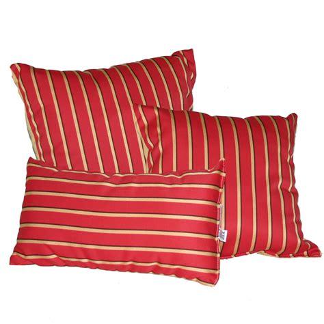 sunbrella outdoor pillows shop harwood crimson sunbrella outdoor throw pillow