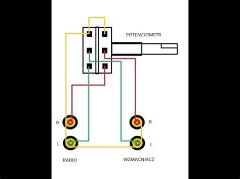 regulacja glosnosci wzmacniacza na kablu rca chinch