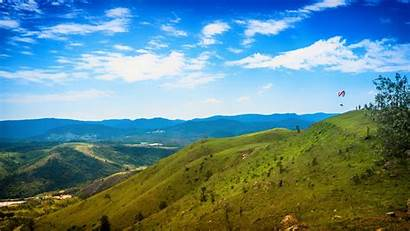 Sky Mountain Korea South Cloud Nature Desktop