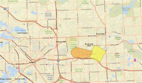 thousands lose power  rochester hills local news