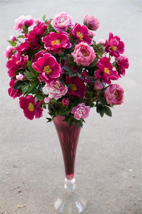 Mākslīgo ziedu pušķis ar vāzi H135 - Fioro - kvalitatīvi ...