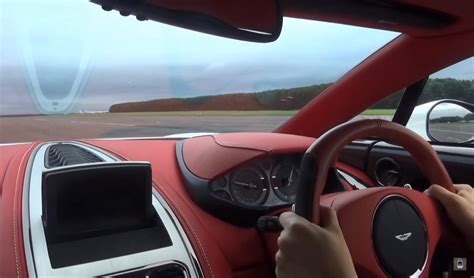 Going 200 Mph In An Aston Martin One 77