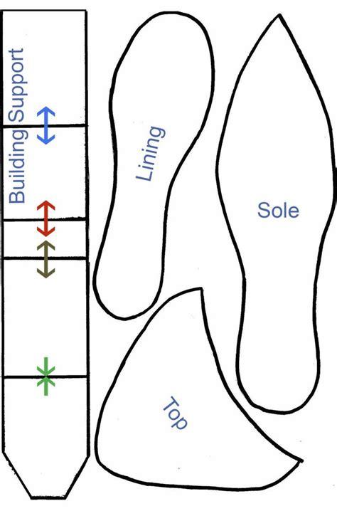 high heel shoe template printable cakepinscom templates