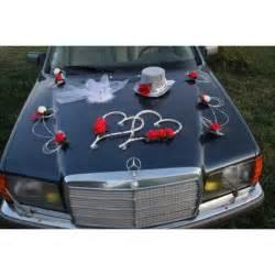 decoration mariage voiture deco voiture mariage et blanc