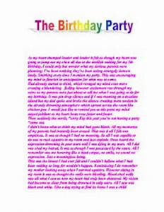 How To Write An Essay For High School Students Essay On My Birthday Party For Class   Law Essay Assignment Help  Toronto Ontario Japanese Essay Paper also Proposal Essays Essay On My Birthday Revolutionary War Essay Essay On My Birthday  How To Make A Good Thesis Statement For An Essay