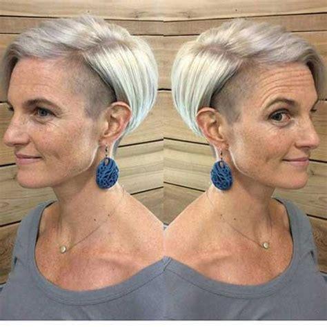 classy pixie haircuts  older women