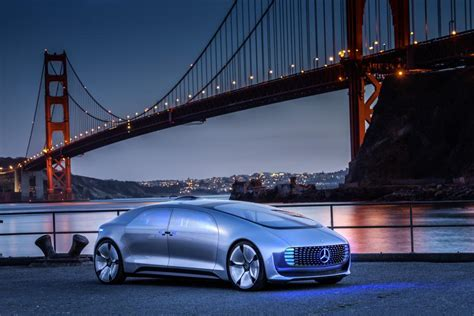 Mercedes Benz Driverless Sedan Showcases The Future Of