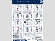 A Printable Pdf Schedule Of Social Security Payments