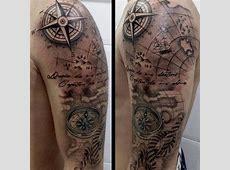 Tatouage Homme Boussole Avant Bras Tattoo Art