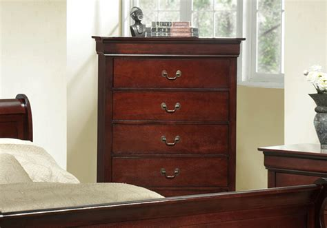 calvin cherry  drawer chest evansville overstock