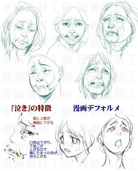 crying monsters   drawing expressions cry