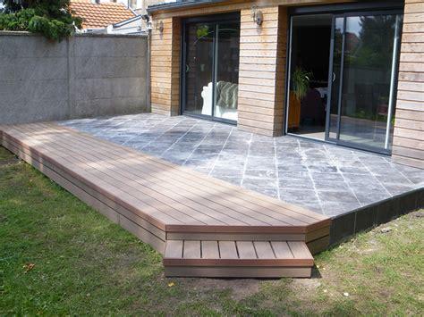 terrasse mixte bois et dalles myqto com