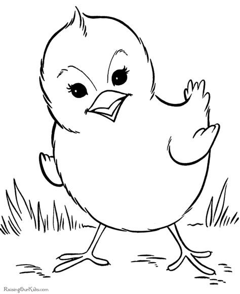 Free Coloring Pages Printable: Cute Duck Coloring Pages