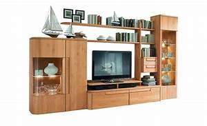 Moderne Wohnzimmer Schrankwand : w stmann wohnwand cantana3000 m bel h ffner ~ Markanthonyermac.com Haus und Dekorationen