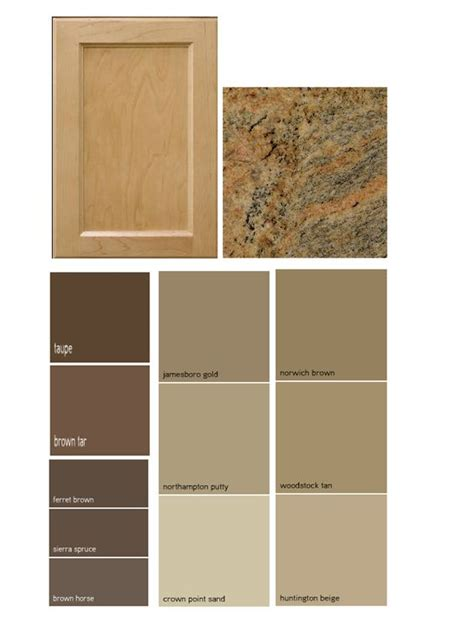 match a paint color to your cabinet and countertop