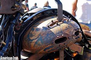 Game Over Cycles Builds  U201cworld U0026 39 S First Tattooed Motorcycle