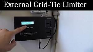 Grid Tie Inverter External Limiter Install