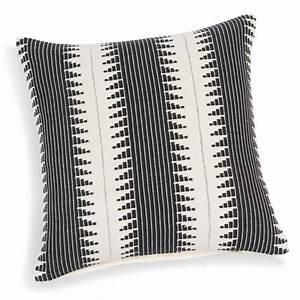 Beistelltisch 40 X 40 : fodera di cuscino in cotone bianca nera 40 x 40 cm figueira maisons du monde ~ Bigdaddyawards.com Haus und Dekorationen
