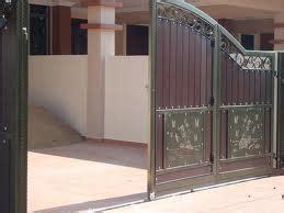 pintu pagar bengkel las besi stainless steel pagar