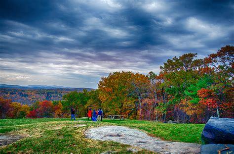 wallpaper langit gunung pohon jatuh alam warna