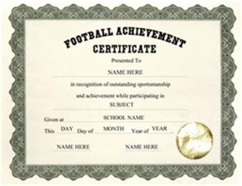 certificate templates  elementary school
