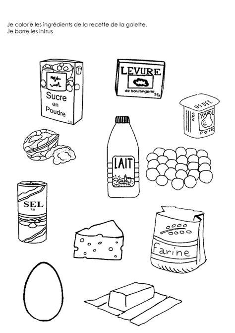 dessin recette de cuisine galette des rois