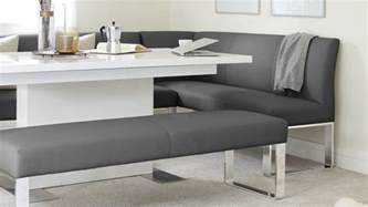 Modern Dining Room Sets With Bench by 5 Seater Left Hand Corner Bench Leather And Chrome Uk