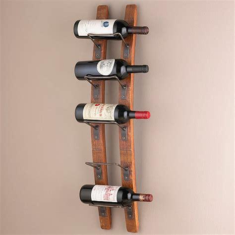 wall wine rack barrel stave wall wine rack wine enthusiast