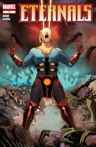 Eternals #6 Reviews (2008) at ComicBookRoundUp.com