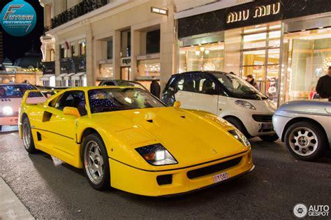 In 15 years of judging the turbo ferrari's, i have never seen a. Ferrari F40 - 5 February 2013 - Autogespot