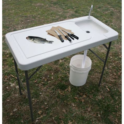 fish cleaning table with sink fish cleaning table portable c kitchen sink small