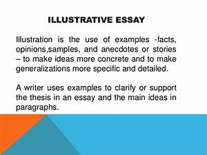 Example And Illustration Essay Example Of Research Design Proposal  Example And Illustration Essay Topics