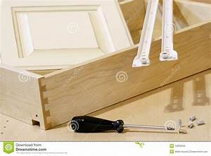 Kitchen Cabinet Building Materials Stock Images - Image