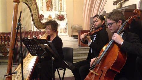 New Orleans Wedding Music Harp Violin Cello Trio