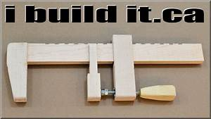 How To Make A Wooden Bar Clamp - YouTube