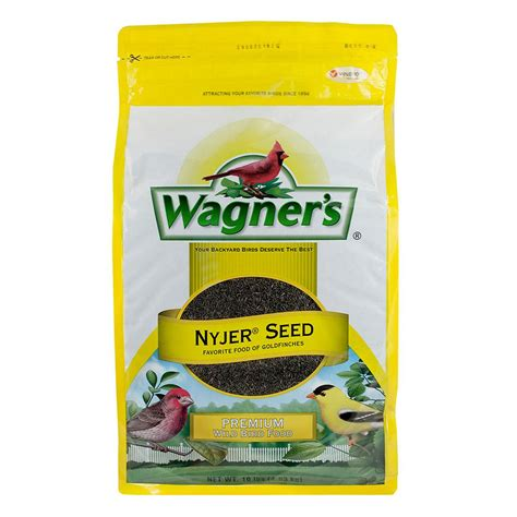 wagners bird food nyjer seed goldfinches finch feeder 10