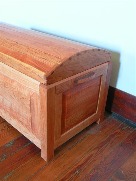 mission style blanket chest plans woodworking