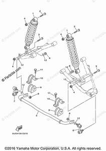 Yamaha Side By Side 2008 Oem Parts Diagram For Rear Suspension